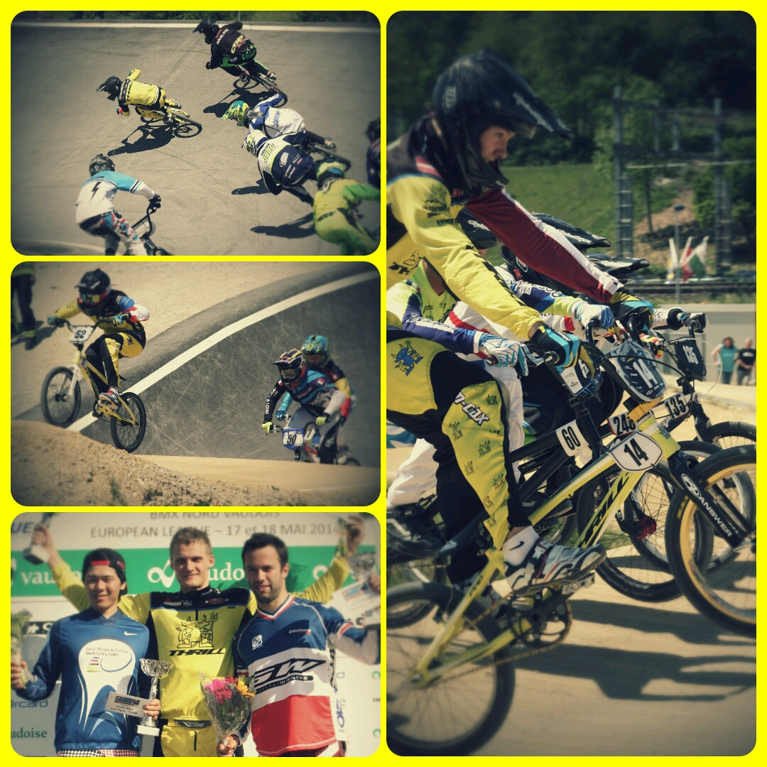 Thrill BMX takes the lead in the Ranking of the UEC European League