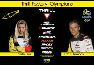 Thrill Rio Olympians