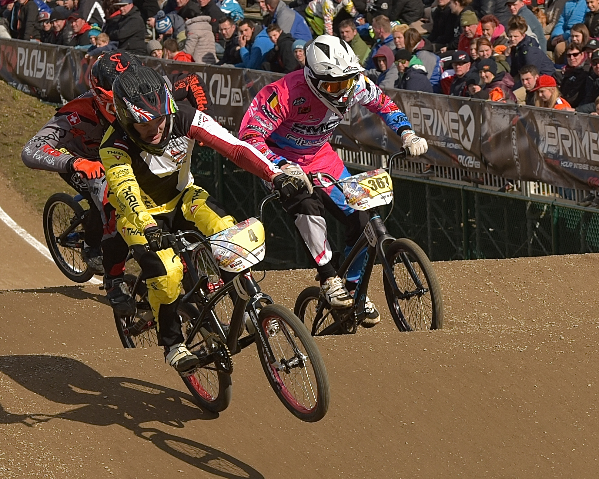 Thrill Factory Europe in the Lead of Euro BMX League Ranking